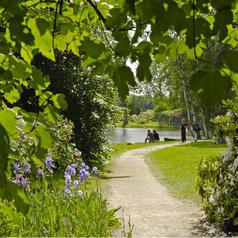 jardins chateau courson