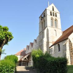 Entrée de l'église - accès piéton