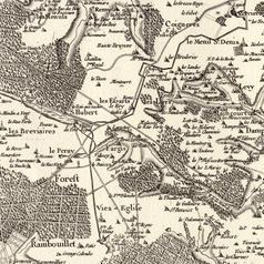 carte cassini 18e siecle