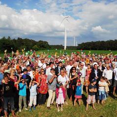 Parc éolien Begane Inauguration