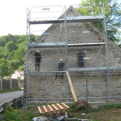 Petit Moulin des Vaux de Cernay Rénovation de la Grange