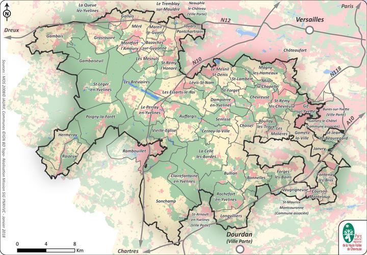 PNR 53 communes