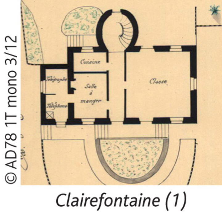 Mairie Ecole Clairefontaine