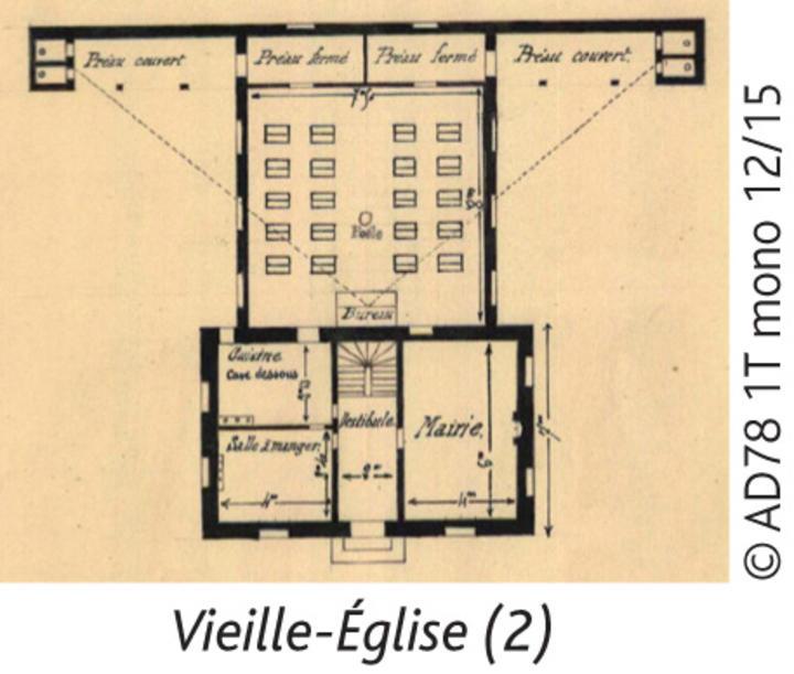 Mairie Ecole Vieille Eglise