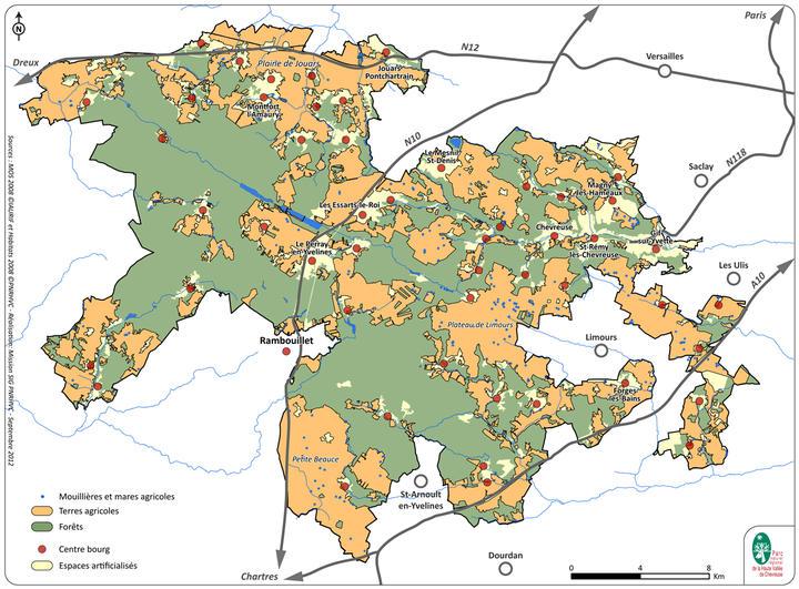 Carte zones agricoles