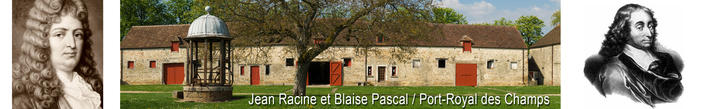 Jean Racine et Blaise Pascal