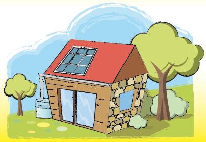 Maison économe
