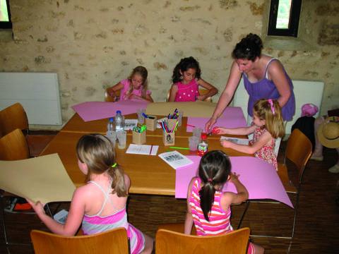 atelier blason aurélie au chateau