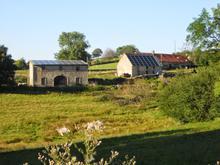 Unité photovoltaïque en Auvergne